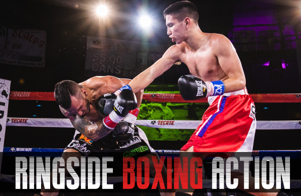 Ringside Boxing Action